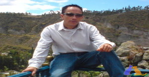 Andrewche 42 years old I am from Quito/Pichincha, Seeking Dating with Woman